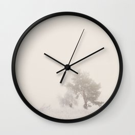 the magic of winter ...  Wall Clock