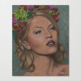 Saturnalian Goddess Canvas Print