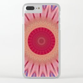 Some Other Mandala 93 Clear iPhone Case