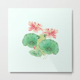 Waterlily love Metal Print