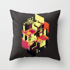 Utopia in Six or Seven Colors Throw Pillow