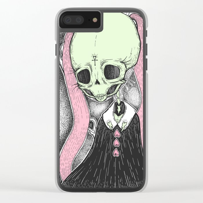 Death (Tarot Cards Series 2014) Clear iPhone Case