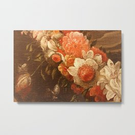 Flowers of old masters Metal Print