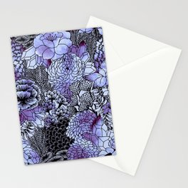 Indigo Bloom Stationery Cards