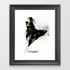 Ebony Framed Art Print