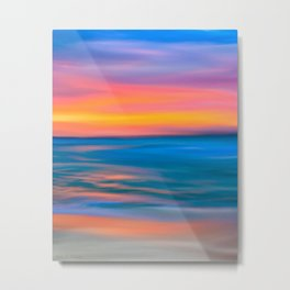 The Horizon Of Distant Seas Metal Print