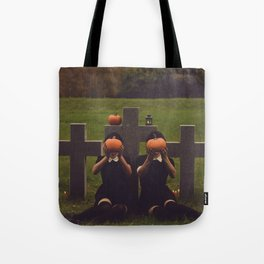 halloween graves Tote Bag