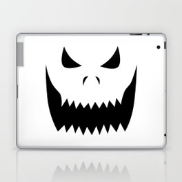 Scary Jack O'Lantern Face Laptop & iPad Skin