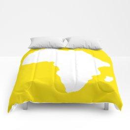 Golden Yellow Audacious Africa Comforters