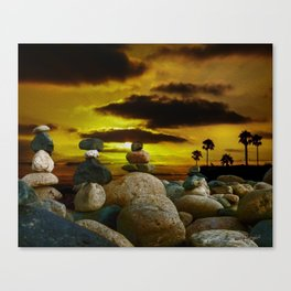 Memories in the Twilight Canvas Print