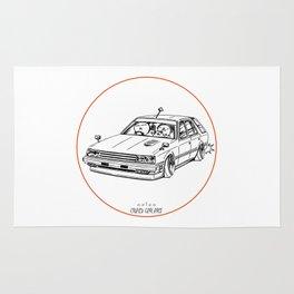 Crazy Car Art 0213 Rug