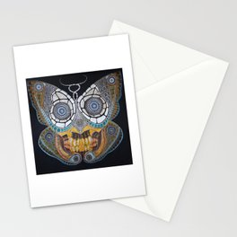 Forlorn Hope - Drawing - Butterfly Skull Stationery Cards