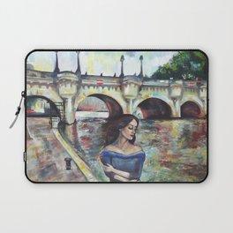 Under Paris skies. Laptop Sleeve