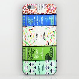 Pretty Book Stack - Part 1 iPhone Skin