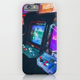 Arcade Machines iPhone Case