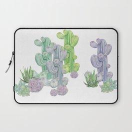 Watercolor Cactus Laptop Sleeve