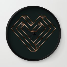 le coeur impossible (nº 6) Wall Clock