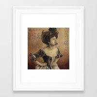 postcard Framed Art Prints featuring ''Postcard'' by Nina Petrova