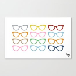 Glasses #4 Canvas Print