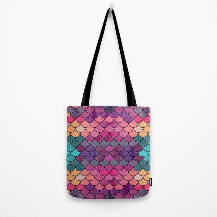 Watercolor Lovely Pattern VVXVIII Tote Bag