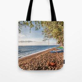 Dauin Beach at Sunrise Tote Bag