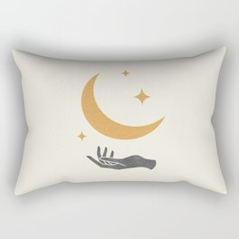 Moonlight Hand 1 Rectangular Pillow