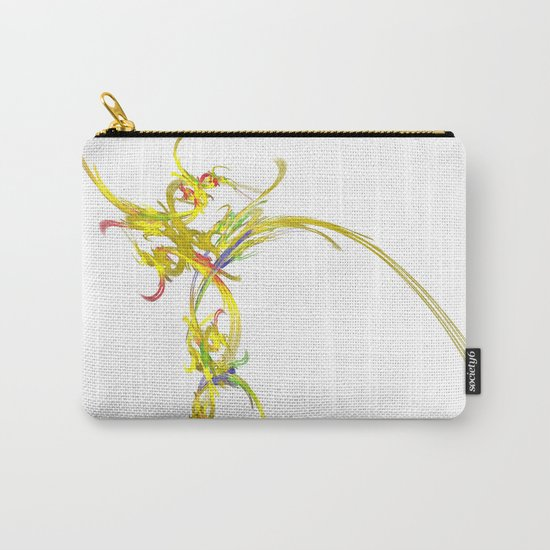 Spiritual Flower Carry-All Pouch