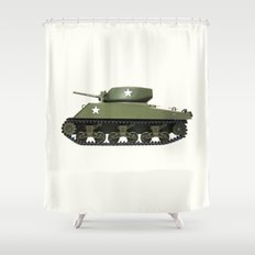 TANK Shower Curtain