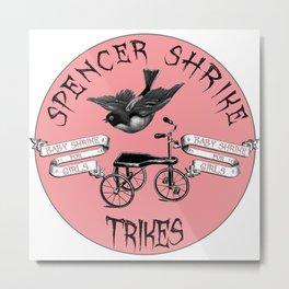 Shrike Trikes for Girls Metal Print
