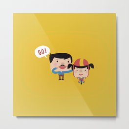 Let's Go! (Yellow Tales Series) Metal Print