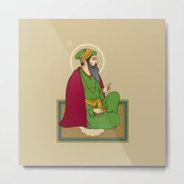 Sri Guru Ram Das Ji Metal Print