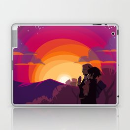 HQ!!: Sunset Walk Laptop & iPad Skin