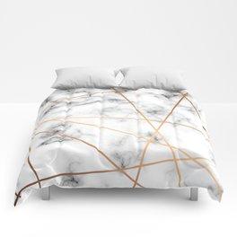 Marble Geometry 051 Comforters