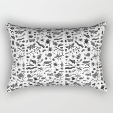 letter I - insects Rectangular Pillow