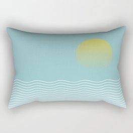 Sunset sea Rectangular Pillow