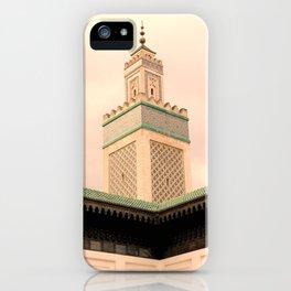 Grande Mosquee de Paris  iPhone Case