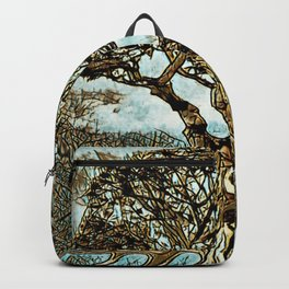 Brown Tree at Peace Backpack