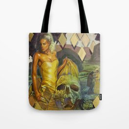 The Water Drove Her Crazy Tote Bag