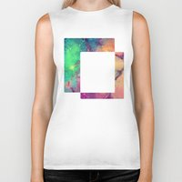 decal Biker Tanks featuring Space Decal by artii