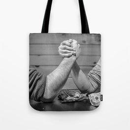 mens battle Tote Bag