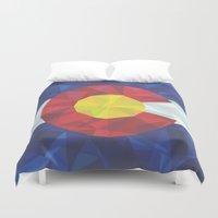 colorado Duvet Covers featuring Colorado by Fimbis