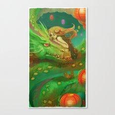 My Dragon Canvas Print