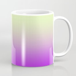 Teagreen Purple Ombre Coffee Mug