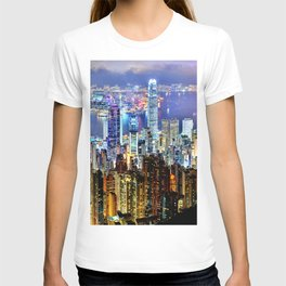 Hong Kong City Skyline T-shirt