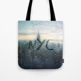 Rainy Day in NYC Tote Bag