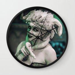 Demon's Muse Wall Clock