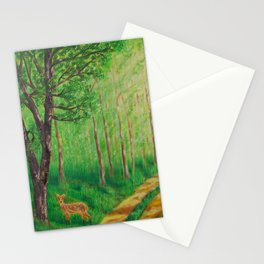 Lonely Time Stationery Cards