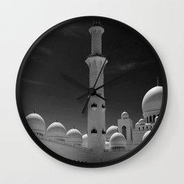 Abu Dhabi Wall Clock