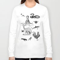 thrones Long Sleeve T-shirts featuring Into the wild by Laura Nadeszhda