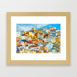 Las Palmas de Gran Canaria, Spain Framed Art Print